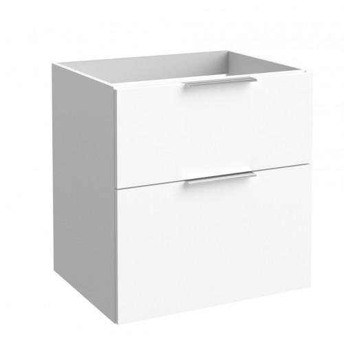 Kame Big apatinė spintelė su stalčiais 60x59cm ir matinėmis baltomis rankenėlėmis (spalvų pasirinkimas)