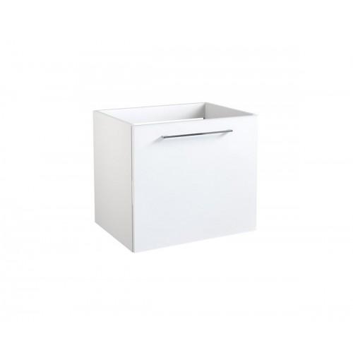 Kame Duet apatinė spintelė su durelėmis 50x38 cm blizgi balta