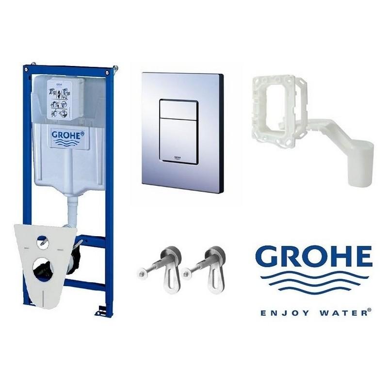 Potinkinio WC rėmo komplektas Grohe 5in1, 38827000