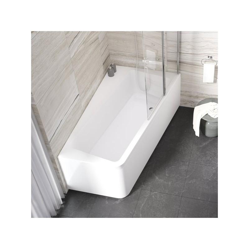 Asimetrinė vonia Ravak 10° 1700*1000 mm