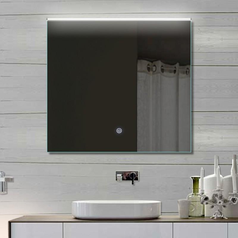 Vonios kambario veidrodis su LED apšvietimu Lux-Aqua LATHL72X70, 720*700 mm