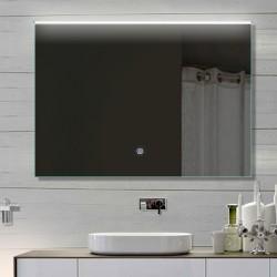 Vonios kambario veidrodis su LED apšvietimu Lux-Aqua LATHL92X70, 920*700 mm