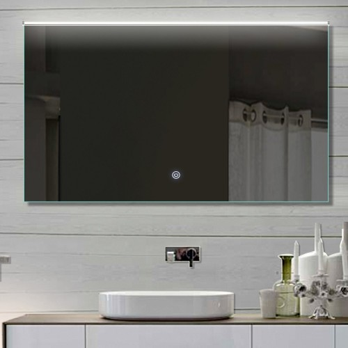 Vonios kambario veidrodis su LED apšvietimu Lux-Aqua LATHL112X70, 1120*700 mm