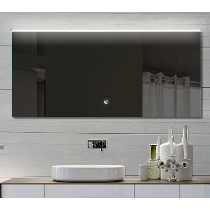 Vonios kambario veidrodis su LED apšvietimu Lux-Aqua LATHL152X70, 1520*700 mm