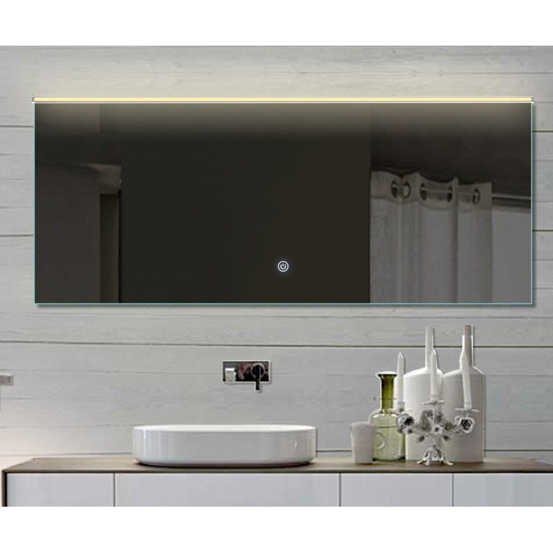 Vonios kambario veidrodis su LED apšvietimu Lux-Aqua LATHL172X70, 1720*700 mm