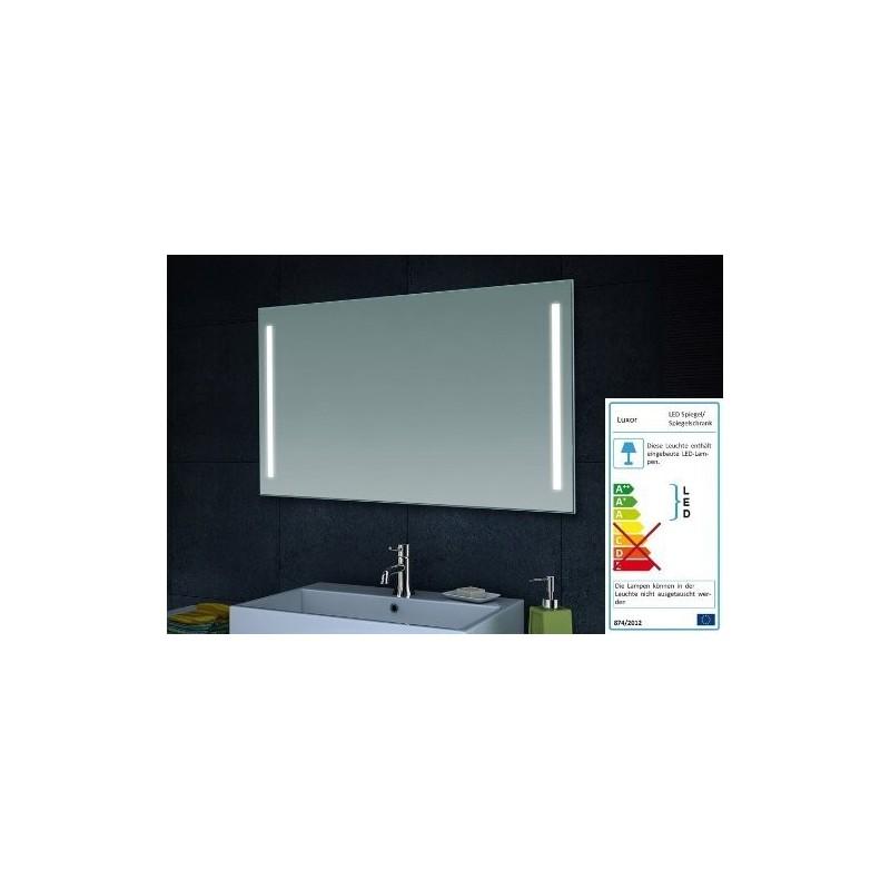 Veidrodis Lux-Aqua LAMT60100 su integruotu LED apšvietimu, 600*1000 mm