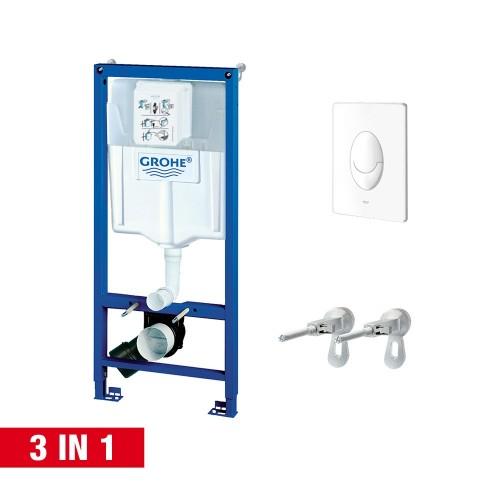 Grohe Rapid SL 3in1 potinkinis wc rėmo komplektas