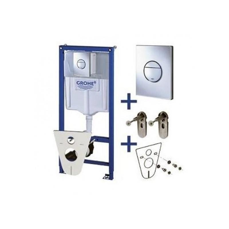 Potinkinio WC rėmo komplektas Grohe 4in1, 38813001